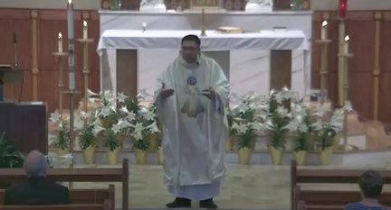 Holy Mass April 11, 2021 Divine Mercy Sunday Homily clip