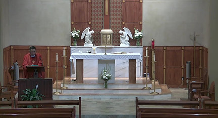 Holy Mass Tues, June 1, 2021 homily clip