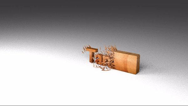 Wood Chip Animation