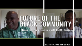 Geoff Edwards and Davon in Discussion