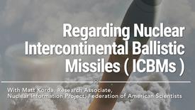 Regarding Nuclear Intercontinental Ballistic Missiles ( ICBMs )