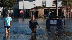 Lake Charles after Hurricane Delta