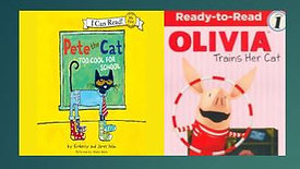 GEM Reading Series: Olivia Trains her Cat and Pete the Cat is Too Cool for School