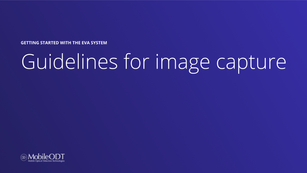 Guidelines for image capture - SANE