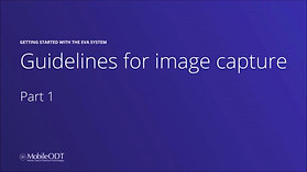 Guidelines for image capture in EVA Well - Part 1