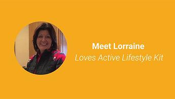 Meet Lorraine.