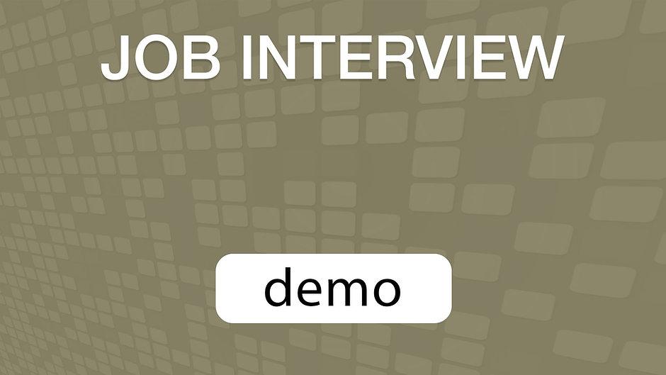 GoVenture JOB INTERVIEW Demo Video