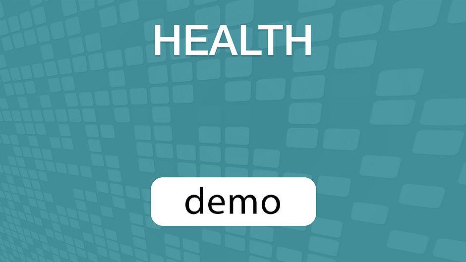 GoVenture HEALTH Demo Video