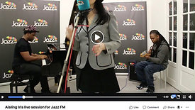 Aisling Iris live session for Jazz FM