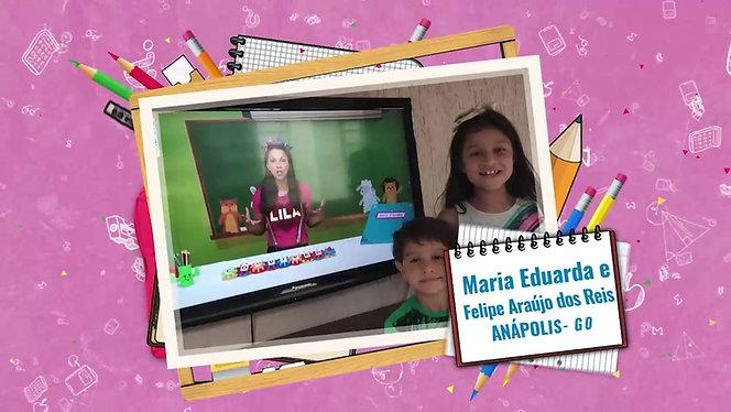 Maria Eduarda e Felipe