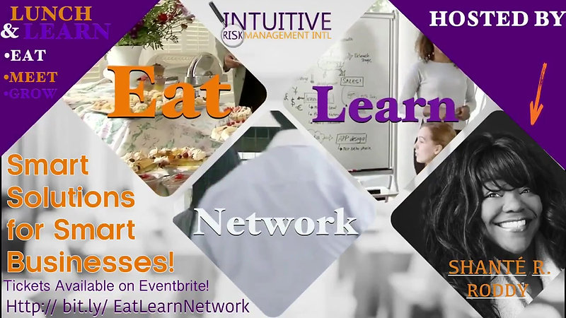 Eat, Learn & Network Event