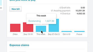 The Xero Dashboard  Keep track of small business finances  Xero
