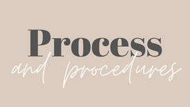 Process and the procedures of God's Kingdom pt.2