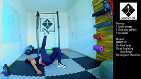 20 Minutes free workout