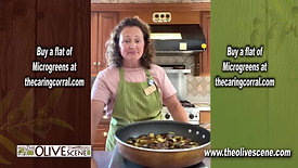 Cooking Withe The Olive Scene - Eggplant Saute