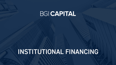 Institutional Financing
