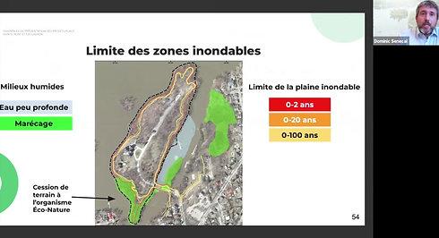 Présentation Aspects environnementaux par Dominic Sénécal (Évolution Environnement Inc.)