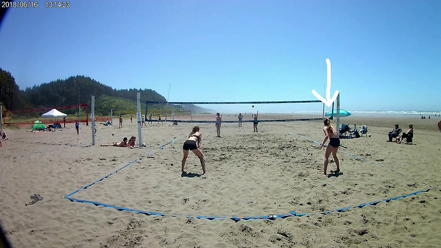 Jocelyn Beach Volleyball