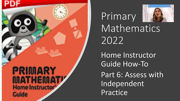 Assess with Independent Practice