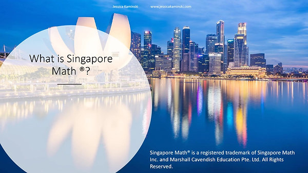 What is Singapore Math