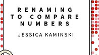 Renaming to Compare Numbers