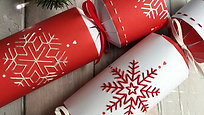 Embroidered Christmas Crackers - Episode 1