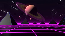 Retro Space Loop