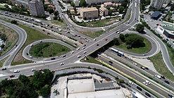 Projet d'élargissement de l'A57 - Vinci Autoroutes/ESCOTA