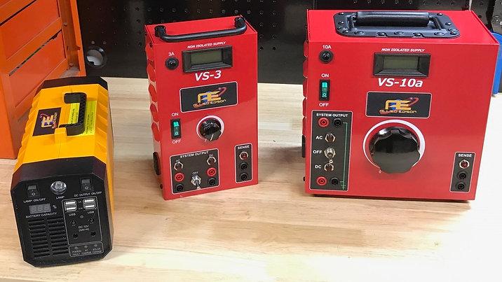VS-3 & VS-10 Power Supplies | Uninterruptible Power Supply (UPS)