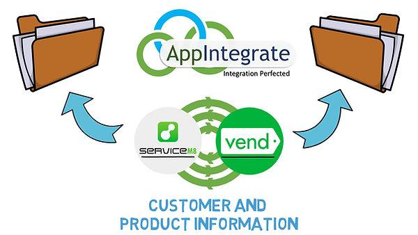 AppIntegrate ServiceM8 Vend Connector