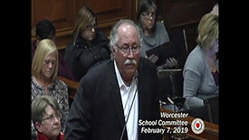 Worcester School Committee - Sex Ed Curriculum