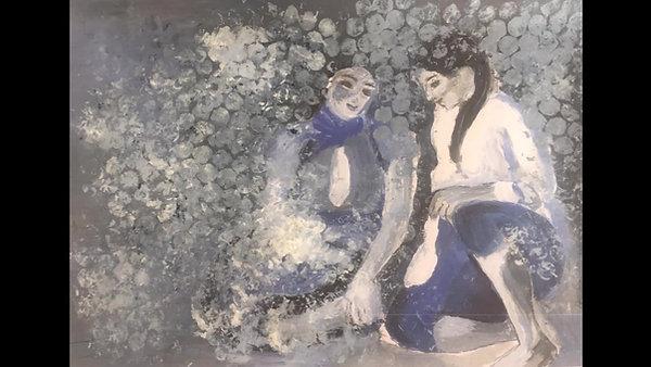 Peinture avec Rose