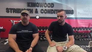 Testimonial - Kingwood Strength & Conditioning