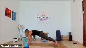 Mindful Flow and Let Go with Alex on Sep 9th, 2021 - Yoga & Health (with music)