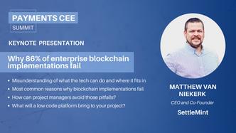 16. Why 86% of enterprise blockchain implementations fail