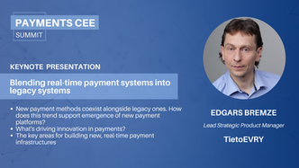 23. Blending real-time payment systems into legacy systems