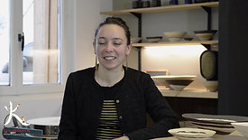 Témoignage de nos stagiaires, Lucie Crouan, céramiste.