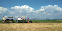 auf dem weg - traktor1