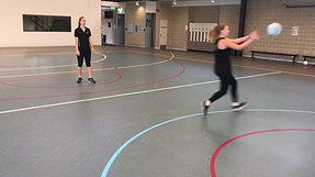 Pivot and Pass (3 Player Drill)