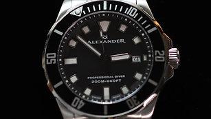 alexander diver watch
