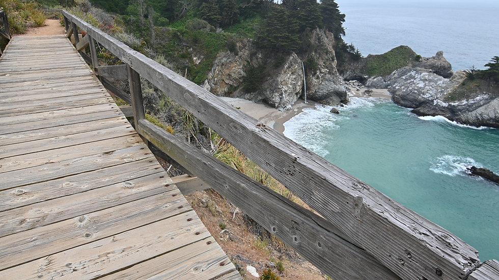 All along the California Coast