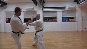 Sneak and Peak - karate