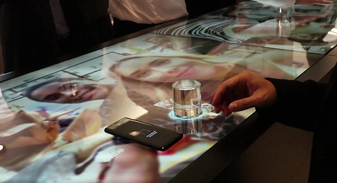 Samsung Interactive Table_Actual Scene 3