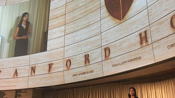 Keynote Speaker for Stanford Hospital's Grand Opening Gala (2019)