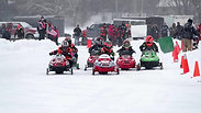 Kids Snowmobile Racing