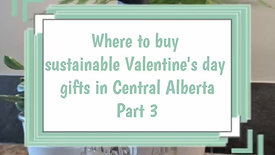 Local Valentine's day gifts P3: research, thrift, reuse
