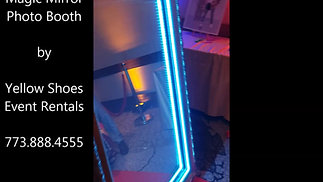 Magic Mirror Photo Booth for rent by Yellow Shoes Event Rentals Elk Grove Village IL 774-888-4555 (5)