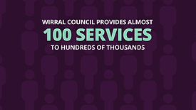 Wirral Council Infographic