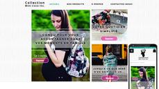 AVANT/APRÈS Site web Collection Mini Coco Inc