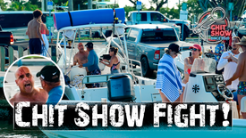 Flying Air Punch Destroys Boater at Boat Ramp (Chit Show )